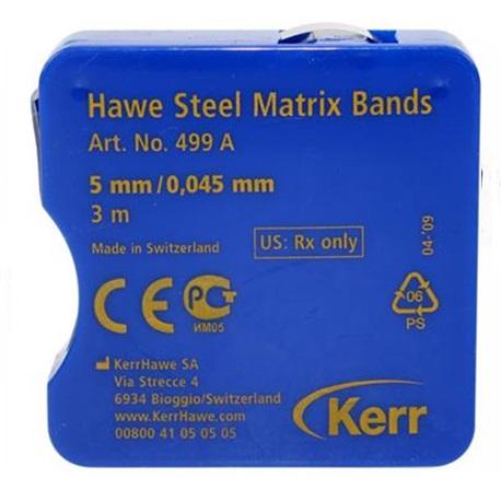 Hawe Steel Matrix Bands - 0.045mm in thickness