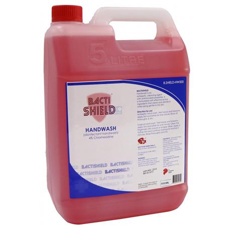 BACTISHIELD Hand Wash, 5L (Chlorhexidine 4%)