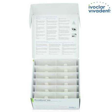 Ivoclar Accudent 12 Pack Impression Material For Edentulous