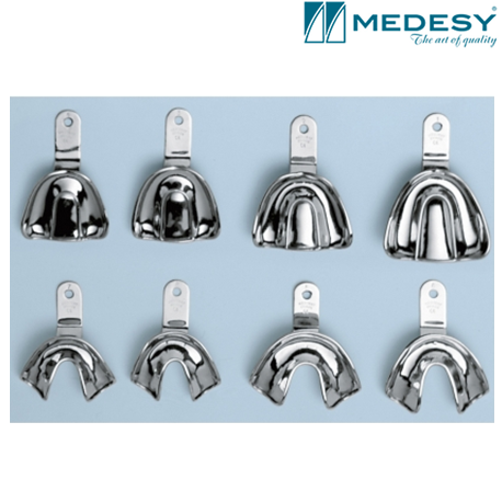 Medesy Kit Impression-Tray Edentulous With Retention Rim #6013/KIT