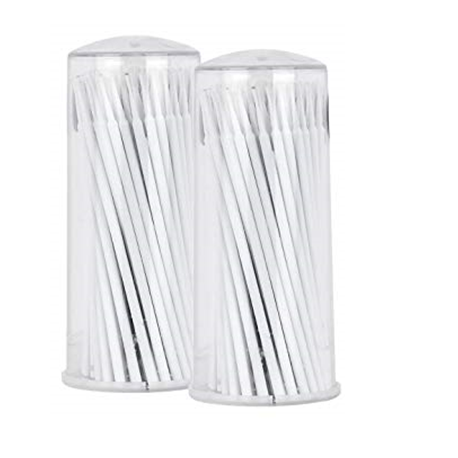 Oro Microbrush Applicator, Super-fine, 100pcs/tube, 4 tubes/box