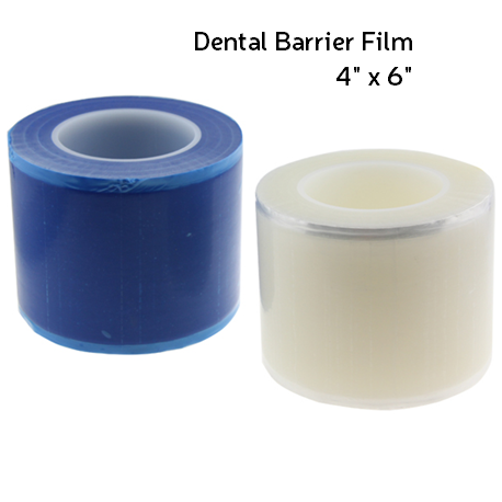 Zogear Dental Barrier Film 4'' x 6'' 1roll/Box