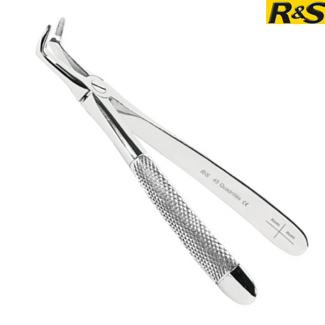 R&S Lower roots extraction forceps no.45