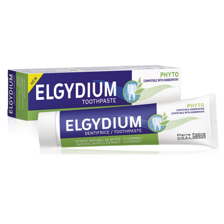 Elgydium Phyto Toothpaste 75ml ( X 8 Packs )