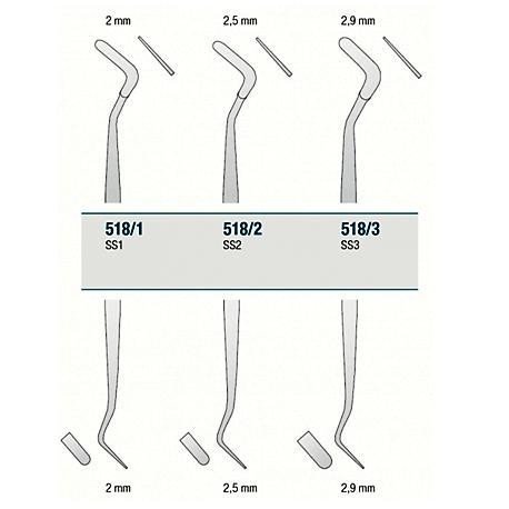 Medesy Plastic Filling/Composite Instrument #518