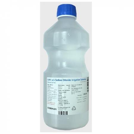 B Braun Sodium Chloride 0.9% Irrigation Solution BP - 500ml