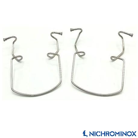 Nichrominox Metal Double-sided Cheek Retractor