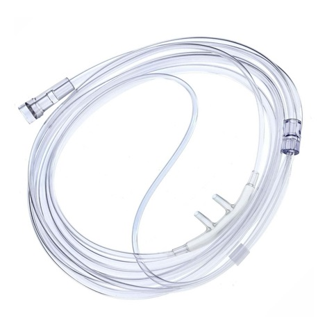 Sterile Nasal Oxygen Cannula with 7ft Tubing, Adult