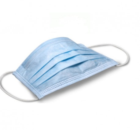 Protective Face Mask 3ply Ear Loop, Blue (50 pcs/pck)