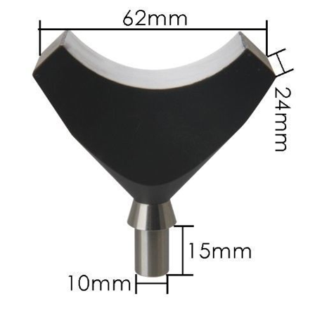 Curing Light Tip for Full Mouth (62mm x 24mm)