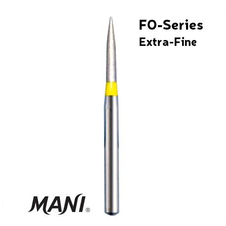Mani Diamond Bur (5pcs/pack)- FO Series (Extra Fine Grit)