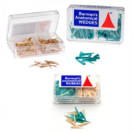 Barmans Interdental Wooden Wedges, 200 pcs