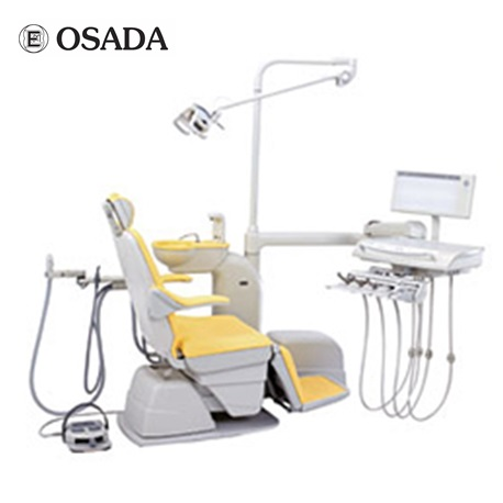 Osada Dental Chair Inicio Model:- L Type with over arm Treatment Table