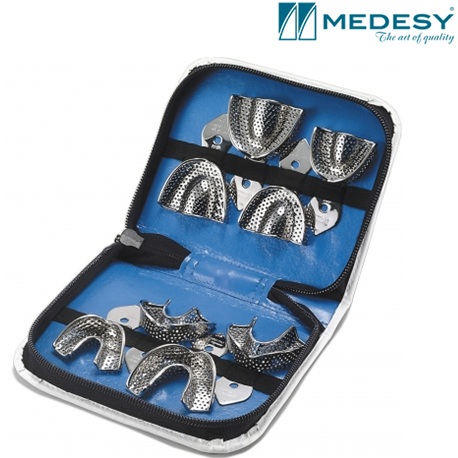Medesy Kit Impression-Tray Pediatric With Retention Rim #6018/KIT