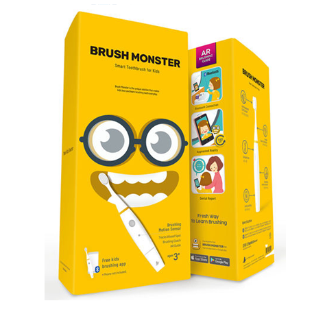 Brush Monster Educational AR Toothbrush