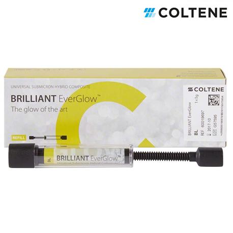 Coltene Brilliant EverGlow Refills Syringes, 3g