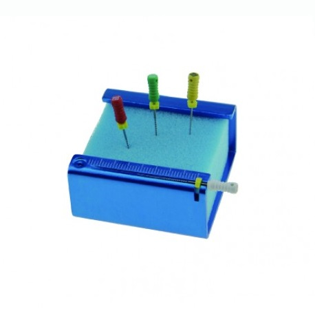 Endo File Holder with Sponge, Square type