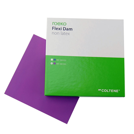 Roeko Flexi Dam Non Latex Purple 150x150mm (30pcs/pack) #390035
