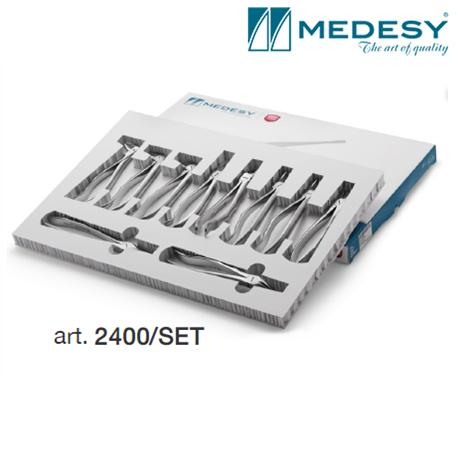 Medesy Set Tooth Forceps Blade Beaks #2400/SET