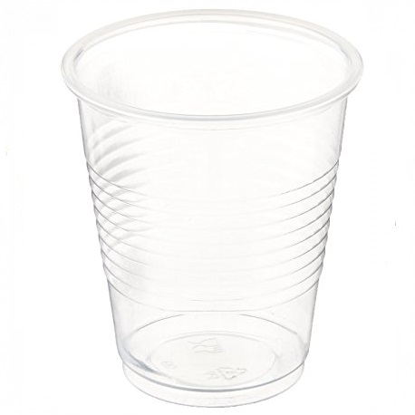 Comfort Plus Plastic Cups Transparent, 7 Oz (50pcs/pkt, 40pkt/carton)