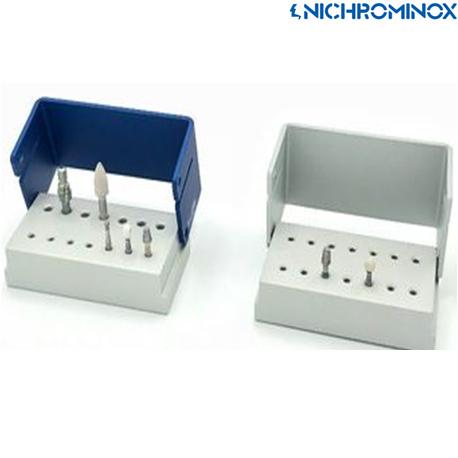 Nichrominox Aluminium Eco block 14 holes holder