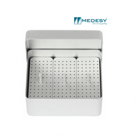 Medesy Endodontic Box Aluminium Medium #989