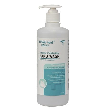 Antiseptic Hand Wash, 500ml (Chlorhexidine 4%)