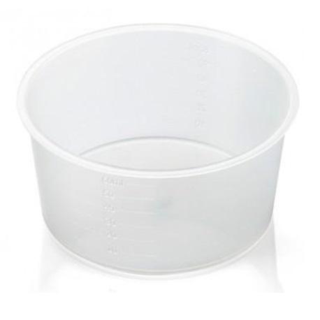Sterile gallipot container, 60ml (10pcs/bag)