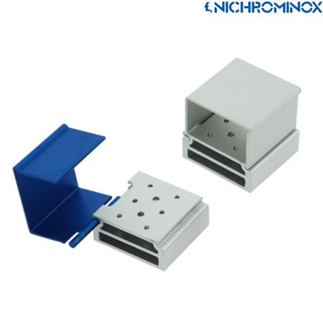 Nichrominox Aluminium 8 holes Smart Block/Holder
