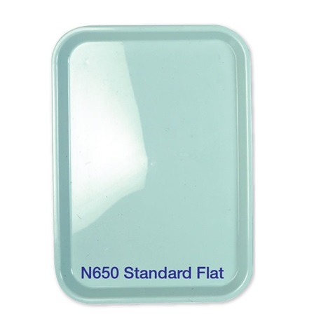 Premium Plus Autoclavable Plastic Trays, Standard (Blue)