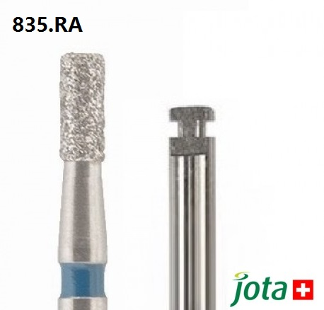 Cylindrical Diamond Bur, RA, 5pcs/pack (835.RA)