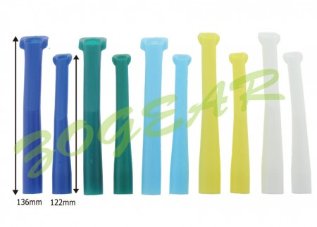 Autoclavable Suction tubes, Adult (10 pcs/bag)