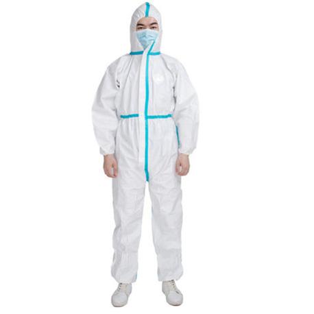 Disposable Protective Microporus Coverall, 63gsm,White 25pcs/Carton