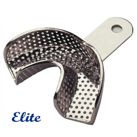 Elite Partial Lower Anterior Perforated Impression Tray
