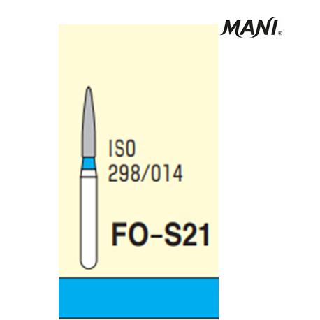 MANI Diamond Bur Flame Shaped FO-S21 (5pcs/pack)