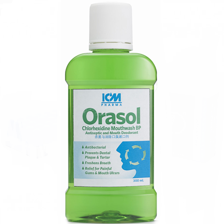 Orasol Antiseptic Mouthwash, 4 Litre can