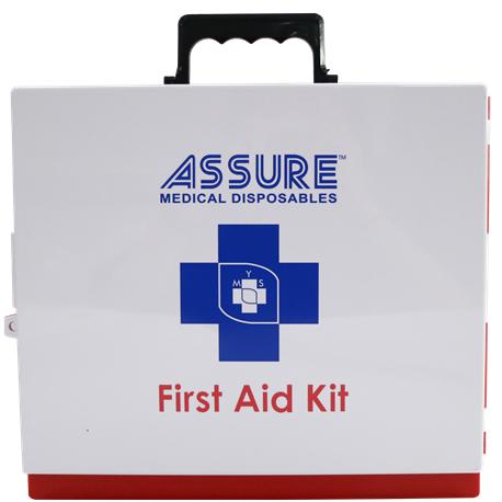 Assure First Aid Box,Empty 24cm x 13 x 5cm, ABS