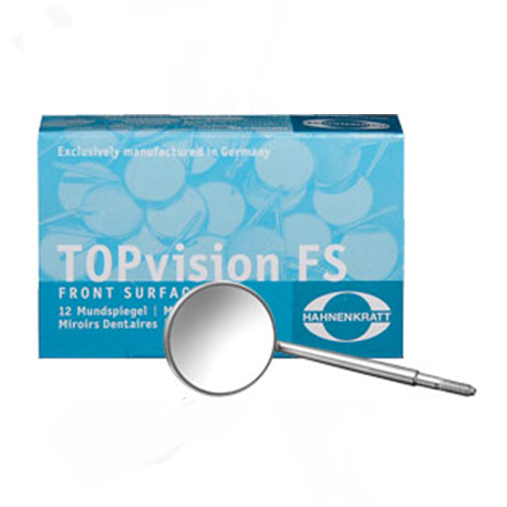 Hahnenkratt Topvision Front Surface mirror Simple Stem (12/Box) # 3