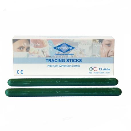 Kemdent Green Tracing Stick, 15'/Box