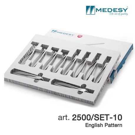 Medesy Set Tooth Forceps #2500/SET-10
