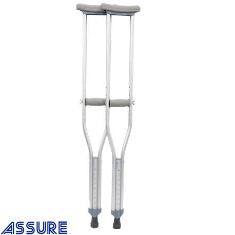 Assure Rehab Aluminium Crutches