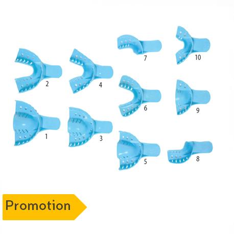 Disposable Dental Impression Trays (12 pcs/pack)