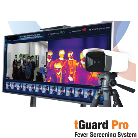 tGuard Pro Fever/Thermal Screening System