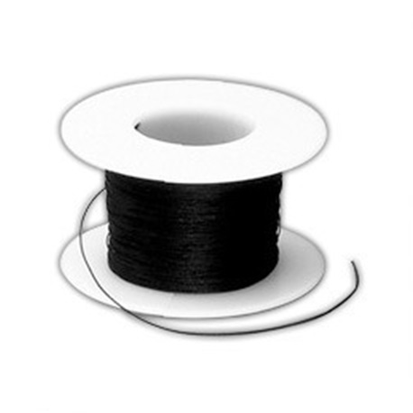 Black Silk Suture thread 3/0 25 yard roll