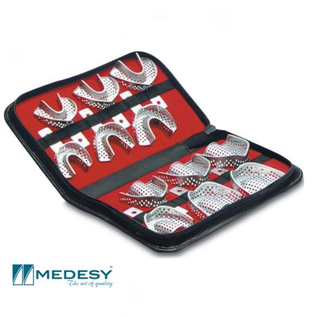 Medesy Impression Trays with Retention Rim Kit (# 6000/KIT)