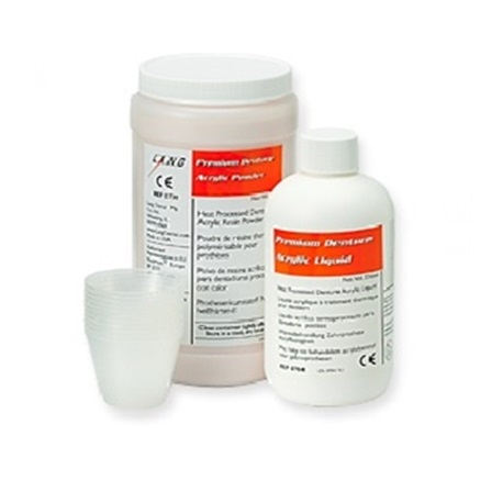 High Impact-45 Denture Powder (Fracture Resistant Denture Resin)