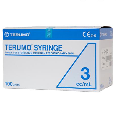 Terumo Disposable Syringe w/o Needles (Luer Lock) (100pcs/box)