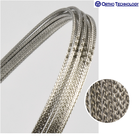 Ortho Technology TruForce Stainless Steel 8- Strand Braided Archwire