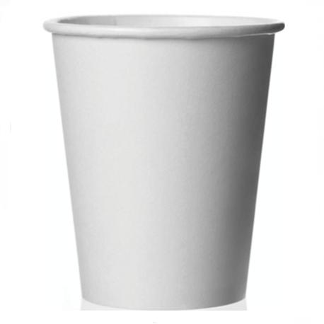 Comfort Plus Paper Cup-White, 7 Oz (50pcs/pkt, 40pkt/carton)