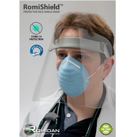 Protective Face shield visor RomiShield 1 unit/box